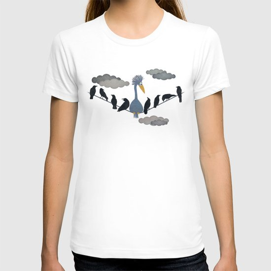 """For """"The Birds"""" T-shirt"""