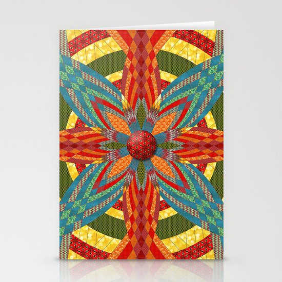 Thistle Pattern Stationery Card