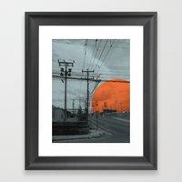 costa rica 2 Framed Art Print