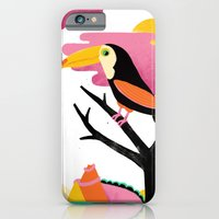 iPhone & iPod Case featuring Toucan by Vasilisa Wise