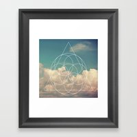 Geometry #1 Framed Art Print