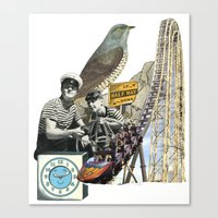 Navigate The Roller Coaster Ride Of Life Canvas Print