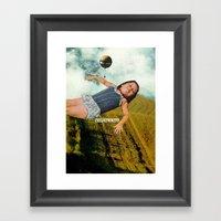 Gratifying Framed Art Print