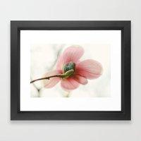 Portraits of Spring - I Framed Art Print