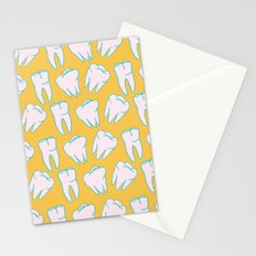 Teeth Pattern Stationery Cards