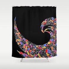 - disco pop - Shower Curtain
