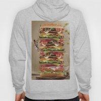 Hamburger Tower Hoody