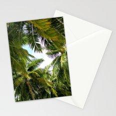 Maldivian palm Stationery Cards