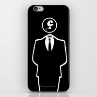 Anonymous / Black / Les … iPhone & iPod Skin