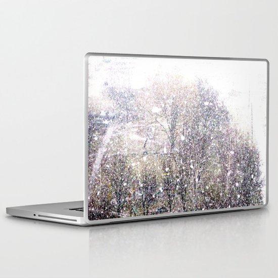 Snow in early fall(1)  Laptop & iPad Skin