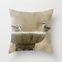 Sweet Duo Throw Pillow
