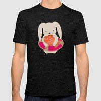 Beach Bunny Mens Fitted Tee Tri-Black SMALL