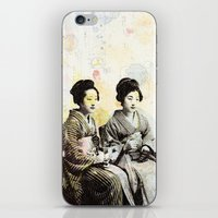 Bench Float iPhone & iPod Skin