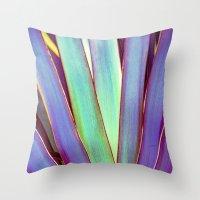 Fiesta Palm Throw Pillow