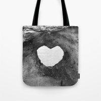 Heart Rock On Maui  Tote Bag
