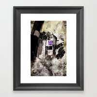 Lord Megatron  Framed Art Print