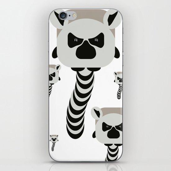 Chubby Lemur iPhone & iPod Skin