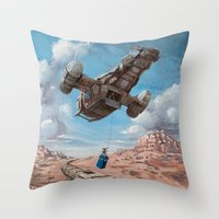 The Time Job - Firefly +… Throw Pillow