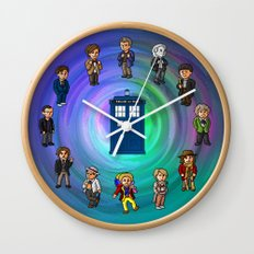 O'Clocktor Who Wall Clock