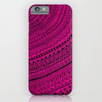 iPhone & iPod Case featuring Hot Pink Pulse o4. by emain