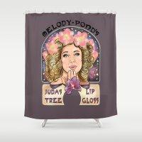 Melody Pond's Judas Tree… Shower Curtain
