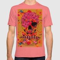 Skulls Dreams Mens Fitted Tee Pomegranate MEDIUM
