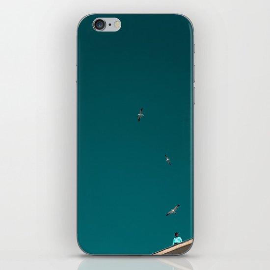 The Lord of the Seagulls iPhone & iPod Skin