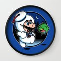 Super Marshmallow Bros. Wall Clock
