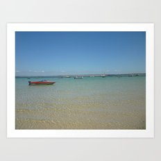 St. Ives Seaside Art Print