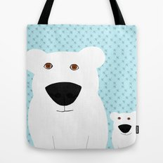 Winter - Polar Bear 2 Tote Bag