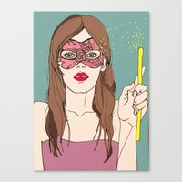 The Magic Of The Mask Canvas Print