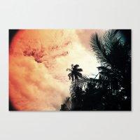 Praia Canvas Print