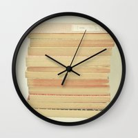 Patterns and Pages Wall Clock