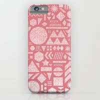 Modern Elements with Bubble Gum. iPhone 6 Slim Case