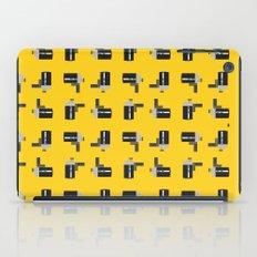 camera 04 pattern iPad Case