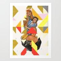 ODD 003 Art Print