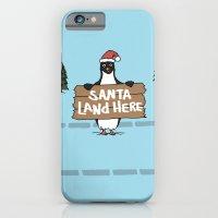 Christmas Penguin iPhone 6 Slim Case