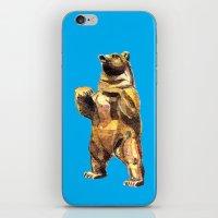 Central Park Bear iPhone & iPod Skin