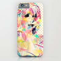 iPhone & iPod Case featuring Abstract portrait by Floridana Oana