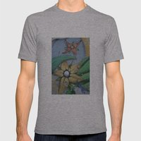 FLORES Mens Fitted Tee Athletic Grey SMALL