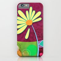 iPhone & iPod Case featuring Daisy by Junoon Designs