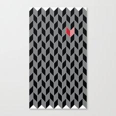 Heart Pattern Canvas Print