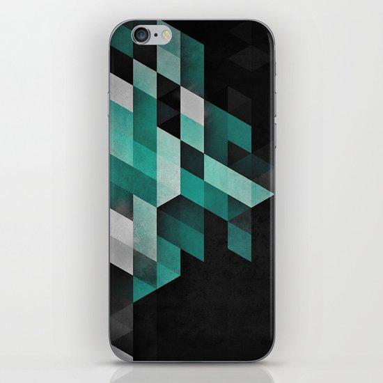 dryma mynt iPhone & iPod Skin