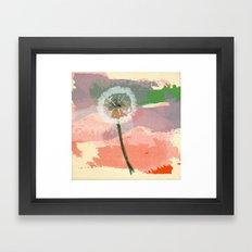 scatter, 2 Framed Art Print