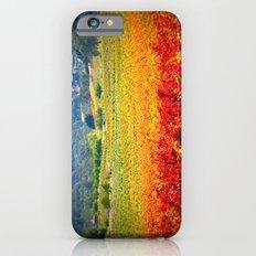 autumn vineyard iPhone 6 Slim Case