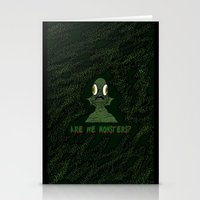 Are We Monsters? Stationery Cards