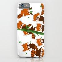 iPhone & iPod Case featuring PandaMania by DyaniArt
