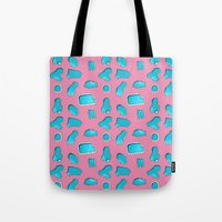 Urban Swimming pool pattern Tote Bag