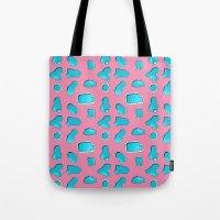 Urban Swimming pool pattern Tote Bag