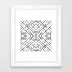 PS Grid 45 Framed Art Print